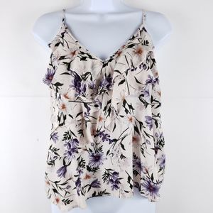 American Eagle Floral Tank Size Medium
